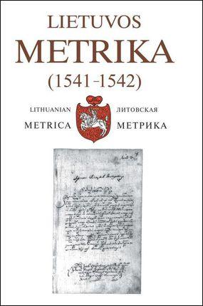 Lietuvos Metrika. Nr. 27 (1541-1542)