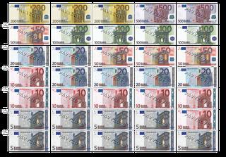 """Pinigai """"Euro plius"""""""