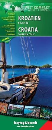 FuB Kroatien Küste Süd 1 : 200 000 World Compact Series