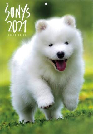 2021 m. sieninis kalendorius Šunys