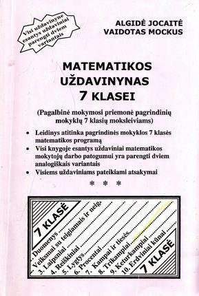 Matematikos uždavinynas 7 klasei