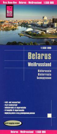 Reise Know-How Landkarte Weißrussland / Belarus (1:550.000)