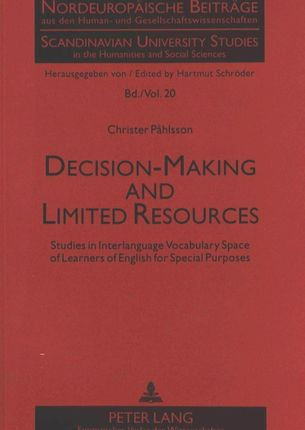Decision-Making and Limited Resources