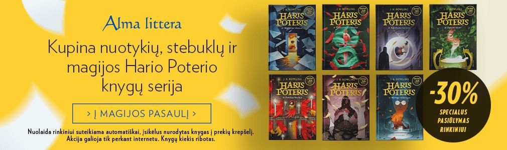 Hario Poterio knygos