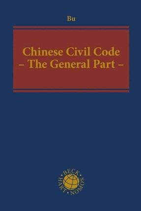 Chinese Civil Code - The General Part -