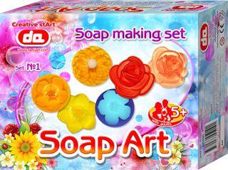 """""""Soap Art"""" muilo kūrybos rinkinys. Gėlės"""