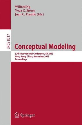 Conceptual Modeling - ER 2013