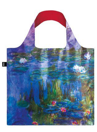 "LOQI pirkinių krepšys ""CLAUDE MONET Water Lilies"""