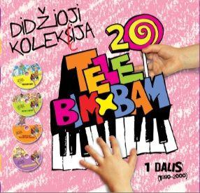 TELE BIM BAM didžioji kolekcija 1 dalis (4 CD)