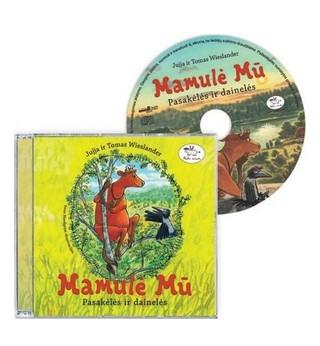 Mamulė Mū. Pasakėlės ir dainelės (CD)