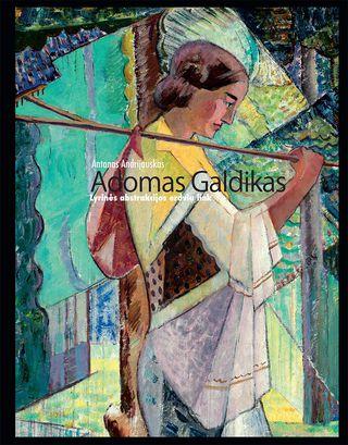 Adomas Galdikas. Lyrinės abstrukcijos erdvių link