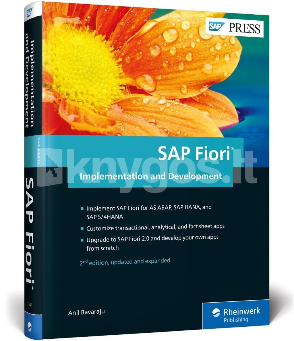 Fiori 500.Sap Fiori Implementation And Development Knygos Lt
