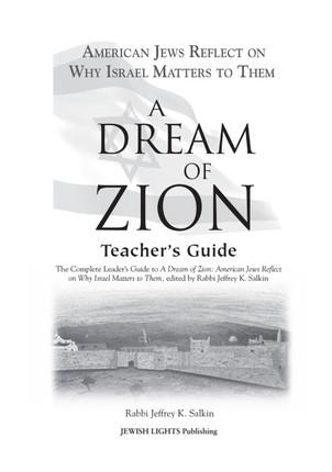 A Dream of Zion Teacher's Guide