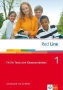 Red Line 1. Fit für Tests und Klassenarbeiten mit CD-ROM