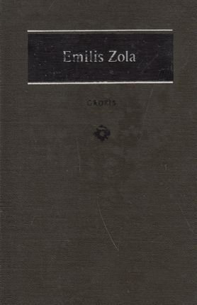 Grobis. Emilis Zola