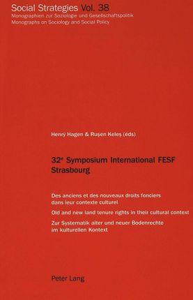 32e Symposium International FESF Strasbourg
