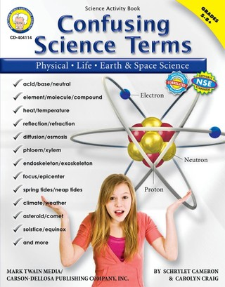 Confusing Science Terms, Grades 5 - 8
