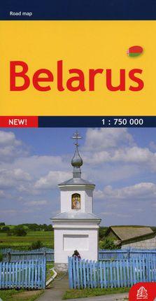 Baltarusija. Kelių žemėlapis. M 1:750 000