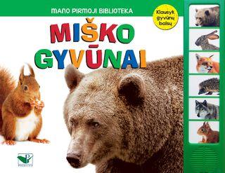 Miško gyvūnai: mano pirmoji biblioteka