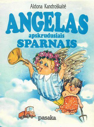 Angelas apskrudusiais sparnais