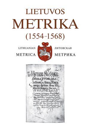 Lietuvos metrika 35(1554–1568)