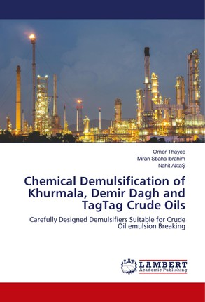 Chemical Demulsification of Khurmala, Demir Dagh and TagTag Crude Oils