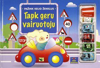 Pažink kelio ženklus. Tapk geru vairuotoju