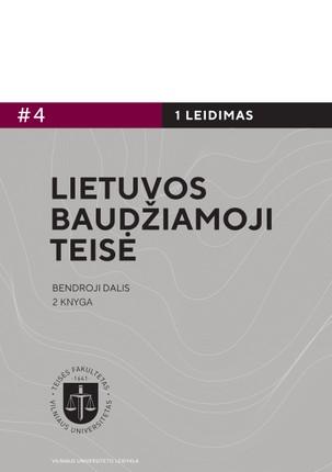 Lietuvos baudžiamoji teisė. Bendroji dalis. 2 knyga