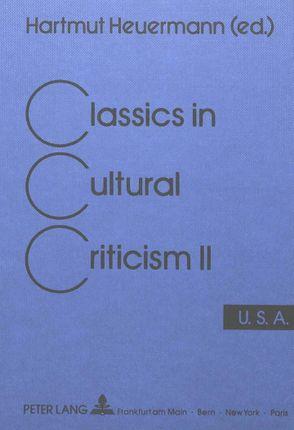 Classics in Cultural Criticism