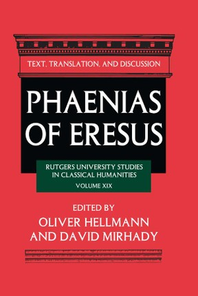 Phaenias of Eresus
