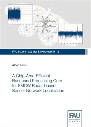 A Chip-Area-Efficient Baseband Processing Core for FMCW Radar-based Sensor Network Localization