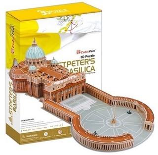 3D dėlionė: St Peters Basilica