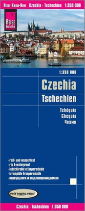 Reise Know-How Landkarte Tschechien / Czechia 1:350.000