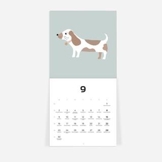 Sieninis kalendorius Šunys 2021 Elo Johanna Kuklane