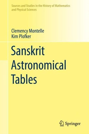 Sanskrit Astronomical Tables