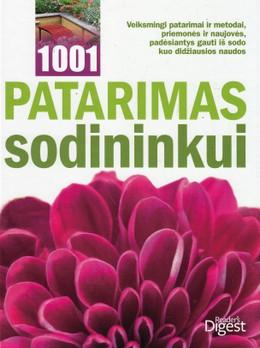 1001 patarimas sodininkui