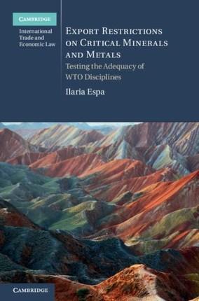 Export Restrictions on Critical Minerals and Metals