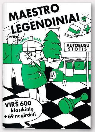 MAESTRO LEGENDINIAI: dešimtis tūkstančių gerbėjų turintis VALSTYBINIS TAUTOS FRONTAS meta iššūkį jūsų humoro jausmui ir pristato geriausią dešimtmečio anekdotų knygą. Savitas stilius, klasikinės temos ir šiuolaikinės aktualijos + karikatūros