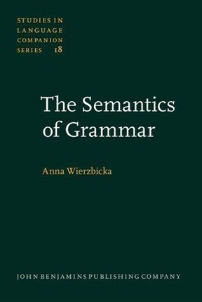 Semantics of Grammar