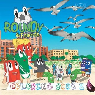 Roundy & Friends - Coloring Book 2
