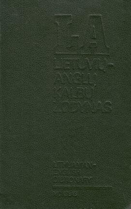 Lietuvių - anglų kalbų žodynas (1991)