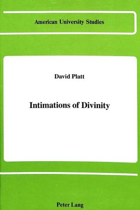 Intimations of Divinity