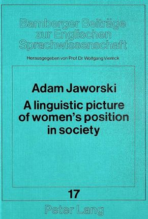 A linguistic picture of women's position in society