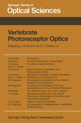 Vertebrate Photoreceptor Optics