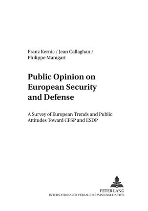 Public Opinion on European Security and Defense