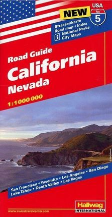Hallwag USA Road Guide 05. California 1 : 1 000 000
