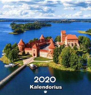 2020 m. kalendorius Lietuva (20 x 20 cm)