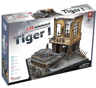 3D dėlionė: German Tiger 1 Armibuild Military