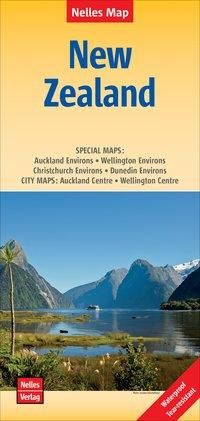 Nelles Map Landkarte New Zealand 1 : 1 250 000