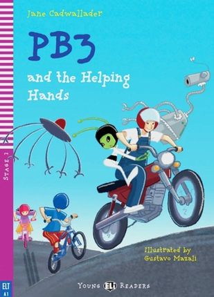 PB3 and the helping Hands. Buch mit Audio-CD